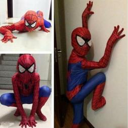 Party Boys Teen Spiderman Costume Kids Superhero Cosplay Bod