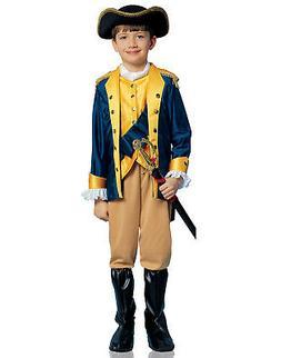 Patriot Soldier Revolutionary War Boys Child Halloween Costu