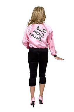 Pink Satin Ladies Women's Costume Jacket