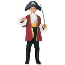 Pirate Costume Kids Captain Hook Halloween Fancy Dress