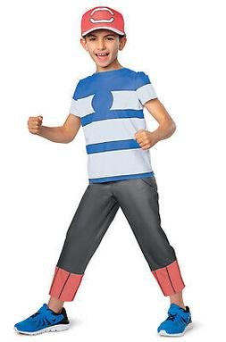 Pokemon Ash Ketchum Alolan Classic Child Costume