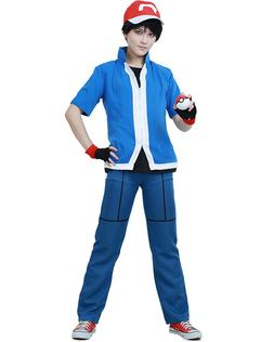 pokemon x and y ash ketchum cosplay
