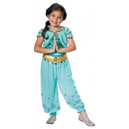 Princess Jasmine Costume Kids Disney Halloween Fancy Dress U