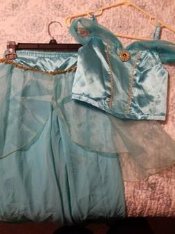 Disney Princess Jasmine Costume Sparkling Kids Size 9/10