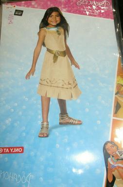 Disney Princess Pocahantas Child Girls Kids Halloween Costum