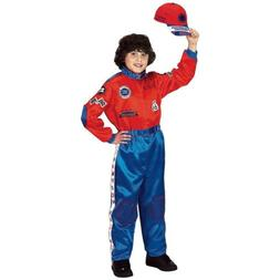Race Car Driver Costume Kids Halloween Fancy Dress