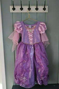 Disney Rapunzel Costume Kids Youth Child 7 8 Tangled Dress G