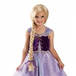 Rapunzel Wig Kids Princess Halloween Costume Fancy Dress