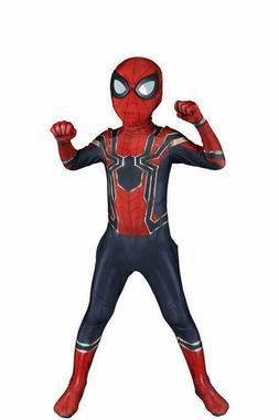 Riekinc Kids Superhero Costumes Lycra Spandex Zentai Hallowe