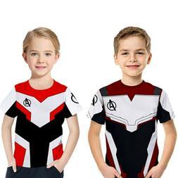 Riekinc Superhero Pullover shirt kids Avengers end game Cosp