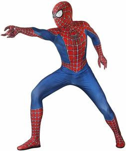 Riekinc Unisex Lycra Spandex Zentai Halloween Cosplay Costum