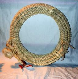 40 Ft Rodeo Rope Lasso - Lariat Riata Western Agave Maguey S