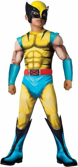 Rubie's Costume Child's Deluxe Muscle-Chest Wolverine Costum