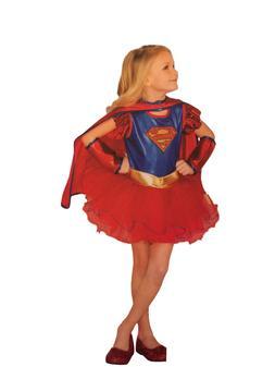 Rubie's Costume Kids DC Superhero Tutu Deluxe Supergirl Cost