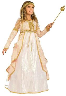 Rubie's Costume Kids Deluxe Shimmering Princess Costume, Lar