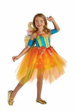 Rubie's Costume Kids Summer Fairy Lite up Costume, X-Small