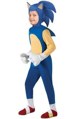 Rubies Deluxe Sonic The Hedgehog Boys Children Halloween Cos