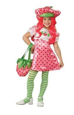 Rubies Deluxe Strawberry Shortcake Costume Kids Girls Child