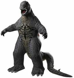 Rubies Godzilla Deluxe Inflatable Child Costume, Child Stand