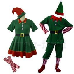 Santa's Little Helper Cosplay Costumes Unisex Adult Children