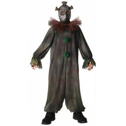 Scary Clown Costume Kids Halloween Fancy Dress