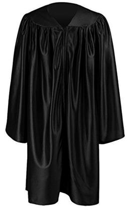 Ivyrobes Silky Children's Choir Robes , Black)