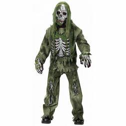 skeleton costume kids scary graveyard monster outfit