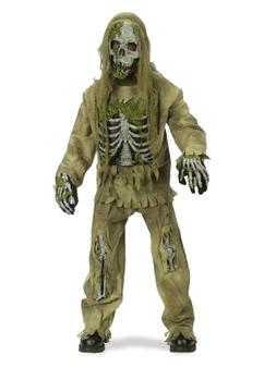 Skeleton Zombie Costume - Medium