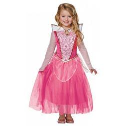 Sleeping Beauty Costume Kids Disney Princess Aurora Hallowee