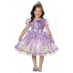 Sofia the First Costume Kids Disney Princess Halloween Fancy