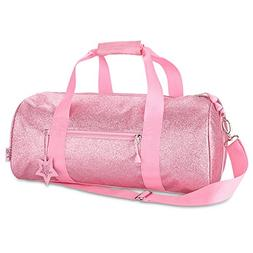 Bixbee Sparklicious Duffle Bag, Pink, Large