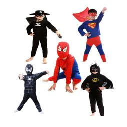 Batman Costume Superhero Cosplay Fancy Dress Halloween Party