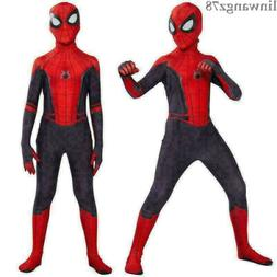 Spider-Man: Far From Home Cosplay Costume Kids Boys Jumpsuit