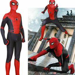Spider-Man: Far From Home Cosplay Costume Jumpsuits Kids Boy