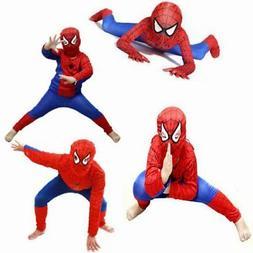 Spiderman Costume Superhero Cosplay For Kids Boys Fancy Dres