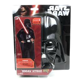 Star Wars Darth Vader Boys Costume Halloween Dress Up Disney