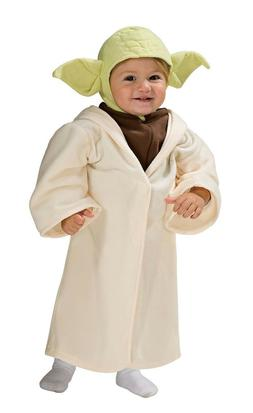 Star Wars YODA Halloween Costume Toddler 3T 4T Child Kid Boy