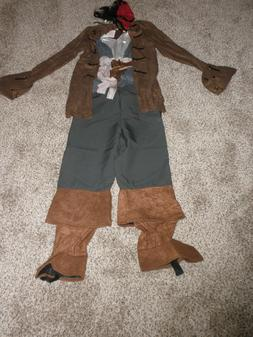 Disney Store Jack Sparrow Pirate Costume childs Medium 7/8