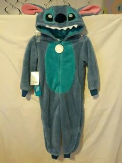 Disney Store Lilo & Stitch Costume Hooded Sleepwear Pajamas