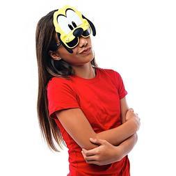 Sunstaches Disney Pluto Character Sunglasses, Instant Costum