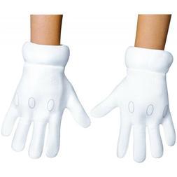 Super Mario Brothers Gloves Costume Accessory Kids Mario Bro