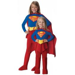 Supergirl Costume Kids Toddler Superwoman Halloween Fancy Dr