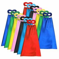 Superhero Capes and Masks for Kids Birthday Party, Pretend P