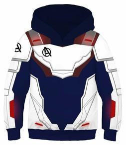 Riekinc Superhero Hoodie Kids Sweatshirt Jacket Halloween Co