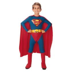 Superman Costume Kids Halloween Fancy Dress Outfit