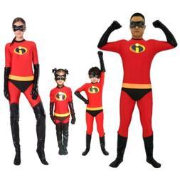 The Incredibles 2 Costume Cosplay Elastigirl Kid Adult Jumps