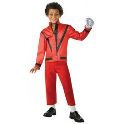 Thriller Jacket Kids Michael Jackson Costume Halloween Fancy