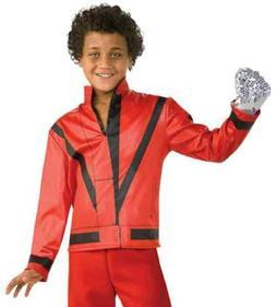 Thriller Jacket Red Michael Jackson Pop Star Fancy Dress Hal