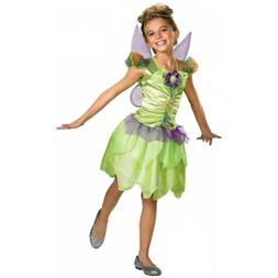 Tinkerbell Costume Kids Disney Halloween Fancy Dress