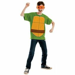 TMNT Costume Kids Teenage Mutant Ninja Turtles Halloween Mic